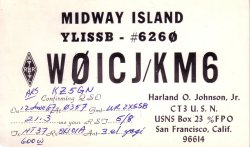 W0ICJ/KM6 Harland O. Johnson
